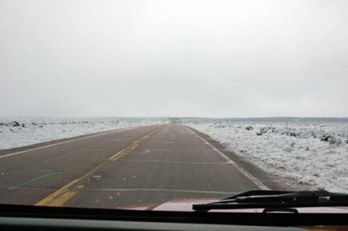 Heading south across the Rez.