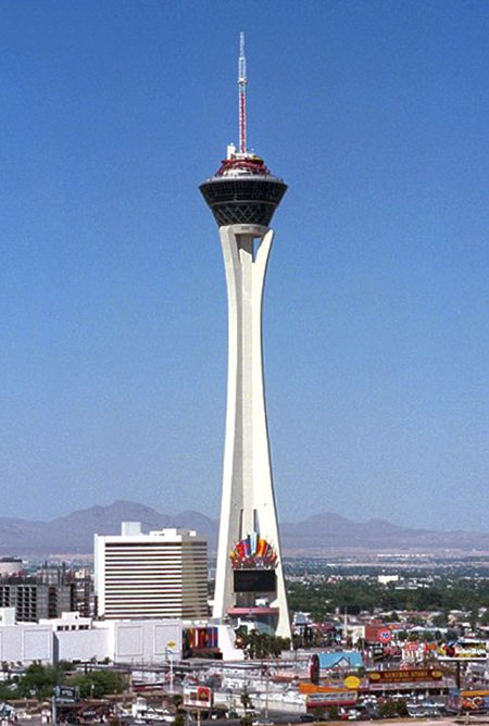 The Stratosphere Tower.