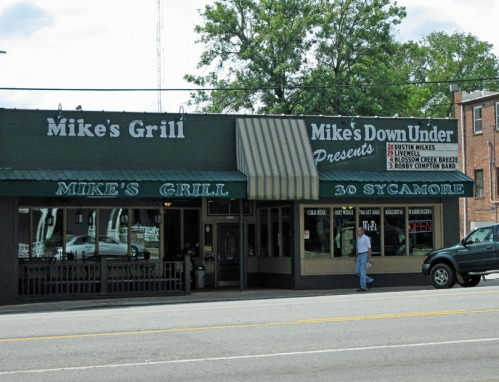 Mike's place.