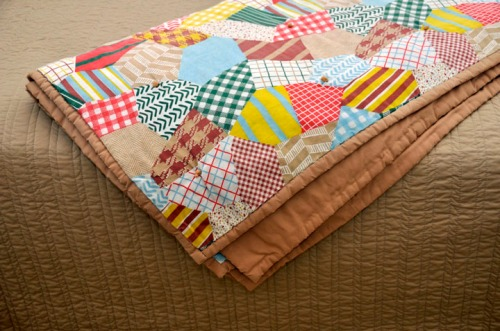One of Miss Amy's tack quilts.