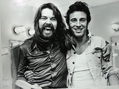 Bob Seger and Bruce Springstein, 1980.