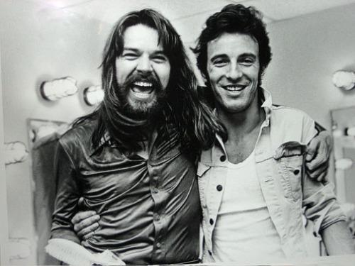 Bob Seger and Bruce Springstein, 1980.
