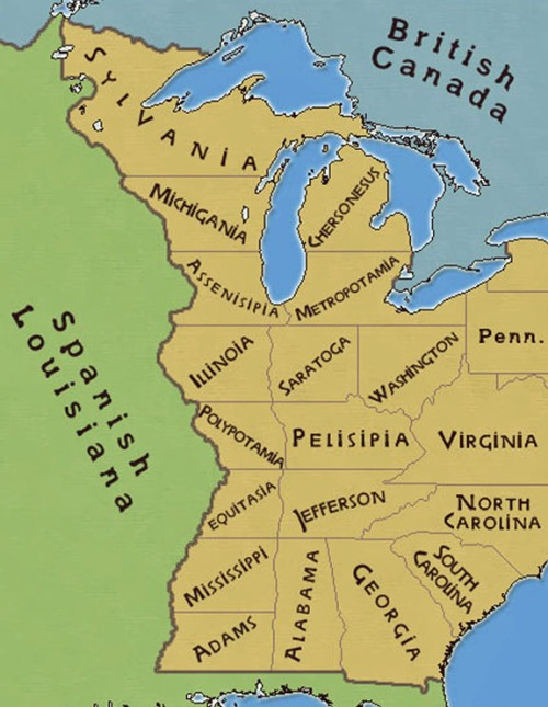 Jefferson's states