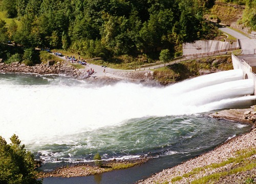 The Upper Gauley put-in, September 1997.