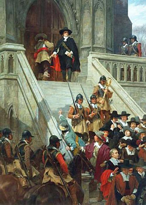 Cromwell 1653