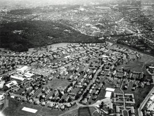 Washington Heights and Yoyogi Park in the 1950s.