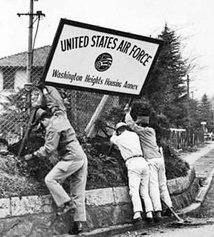 Dismantling begins, 1963.