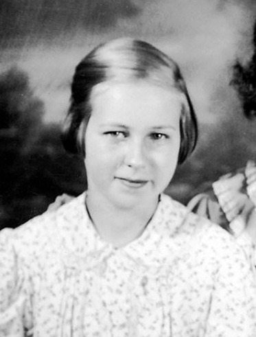 Betty in 1937, age 12.