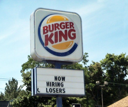 Burger King - Now Hiring!