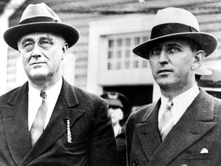 Russell and FDR in 1932.