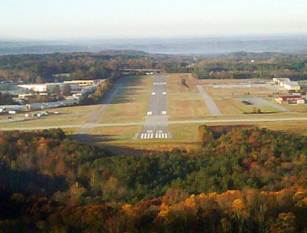 Approaching Barrow County Airport.