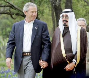 Bush Abdullah