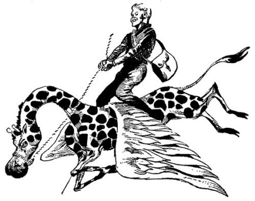 Piebald Hippogriff