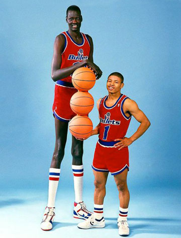 Muggsy and Manute