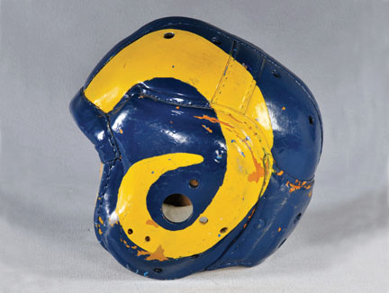 Rams helmet