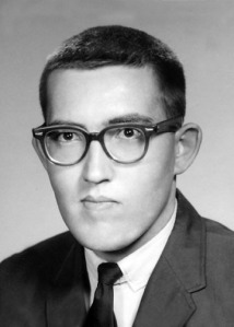 Walter Allan Smith (Rocky), freshman year in college, 1960-61.
