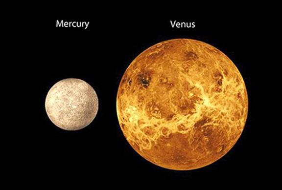 Mercury, Venus